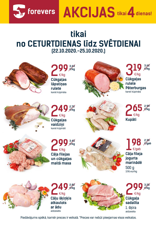 EKSTRA akcijas   Forevers - lielākais gaļas produktu ...